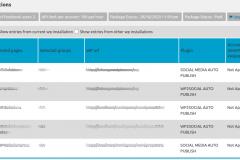 Facebook Auto Publish - Manage Authorizations