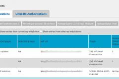 Social Media Auto Publish - Manage Authorizations-Facebook
