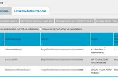 Social Media Auto Publish - Manage Authorizations-LinkedIn